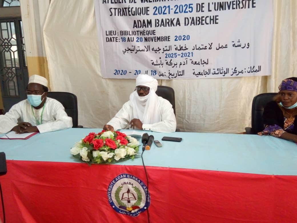 Tchad : l'Université Adam Barka valide son plan d'orientation stratégique quinquennal. © Abba Issa/Alwihda Info