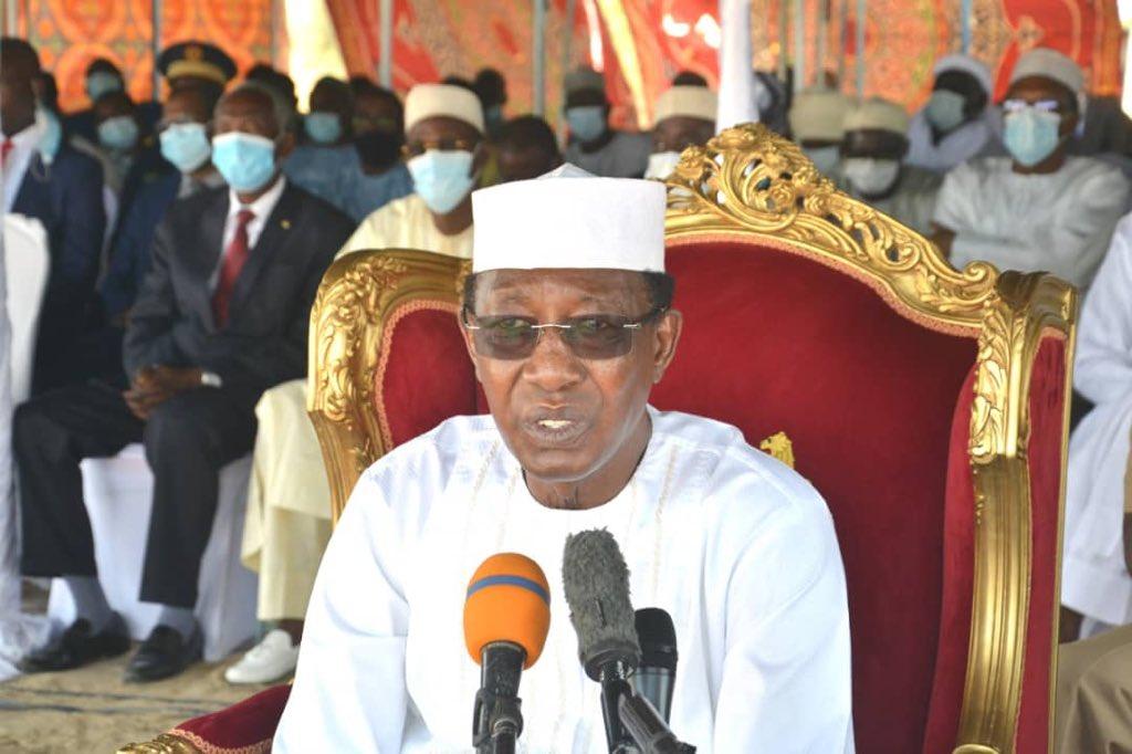 Electricité : N'Djamena sortira de la pénombre, promet Idriss Déby. © PR