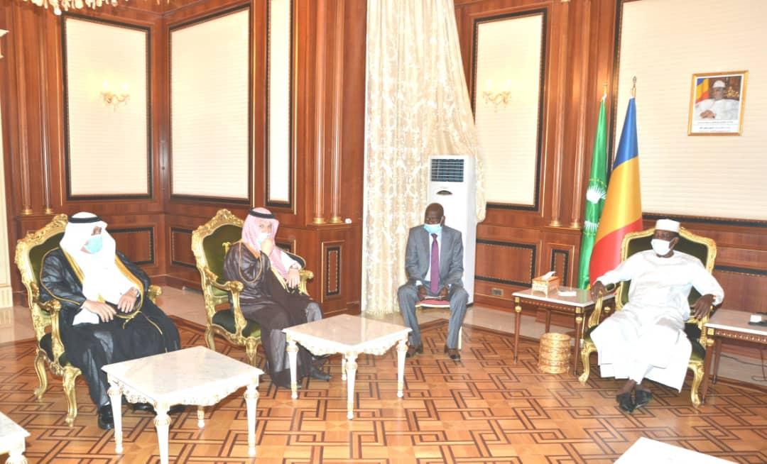 Tchad : un ministre d'État saoudien reçu à la Présidence. © PR