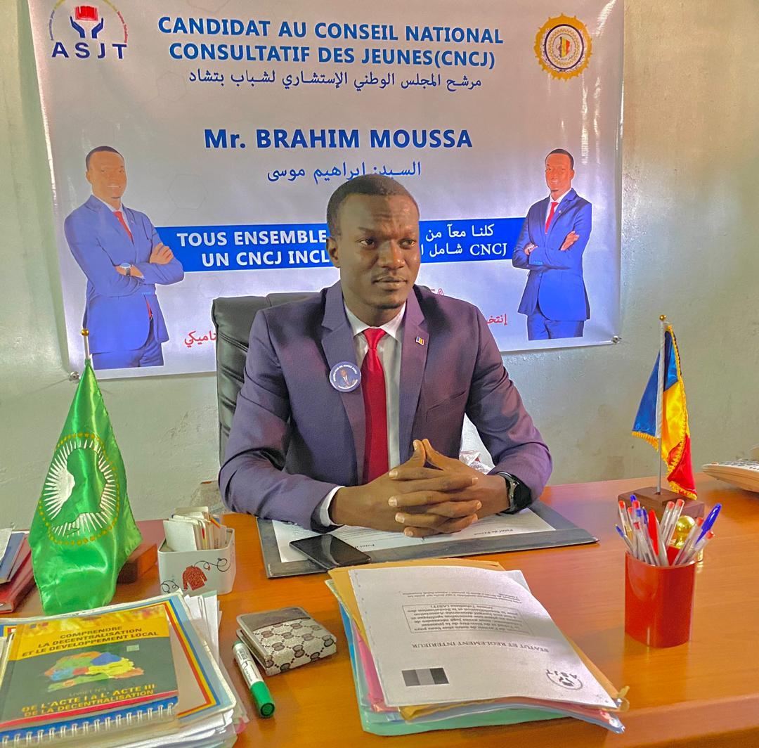 Tchad : Brahim Moussa est candidat à la présidence du CNCJ
