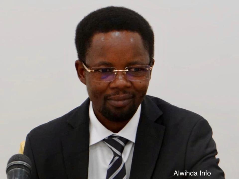 Le directeur général des douanes et droits indirects, Abdelkerim Mahamat Charfadine. © Djimet Wiche/Alwihda Info