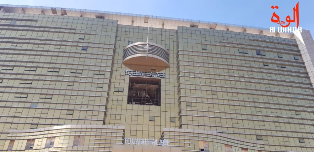 Tchad : l'hôtel Toumaï Palace en voie de finition à N'Djamena. © Ben kadabio/Alwihda Info