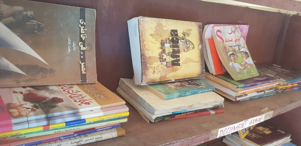 تشاد: منظمة العمل الإنساني الأفريقي Aha تقوم بإنشاء مكتبة للقراءة في حاضرة إقليم وادي فيرا بلتن