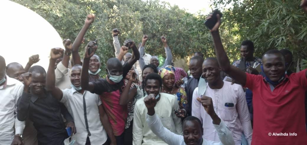 Tchad : plusieurs journalistes libérés par la police. © Malick Mahamat/Alwihda Info