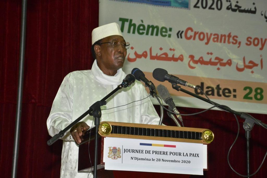 """Tchad : le président s'en prend à """"ceux qui divisent pour des raisons politiques"""". © PR"""