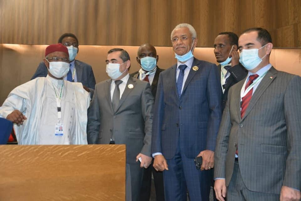Organisation de la coopération islamique : Hissein Brahim Taha a prêté serment. ©. Tchad Diplomatie