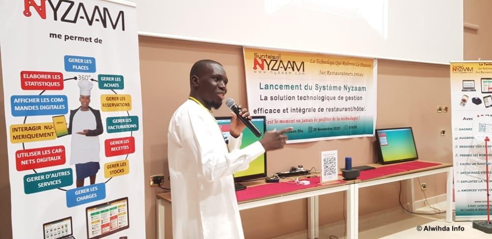 """Tchad : lancement de """"Nyzaam"""", un système de gestion innovant pour les restaurateurs. © Ben Kadabio/Alwihda Info"""