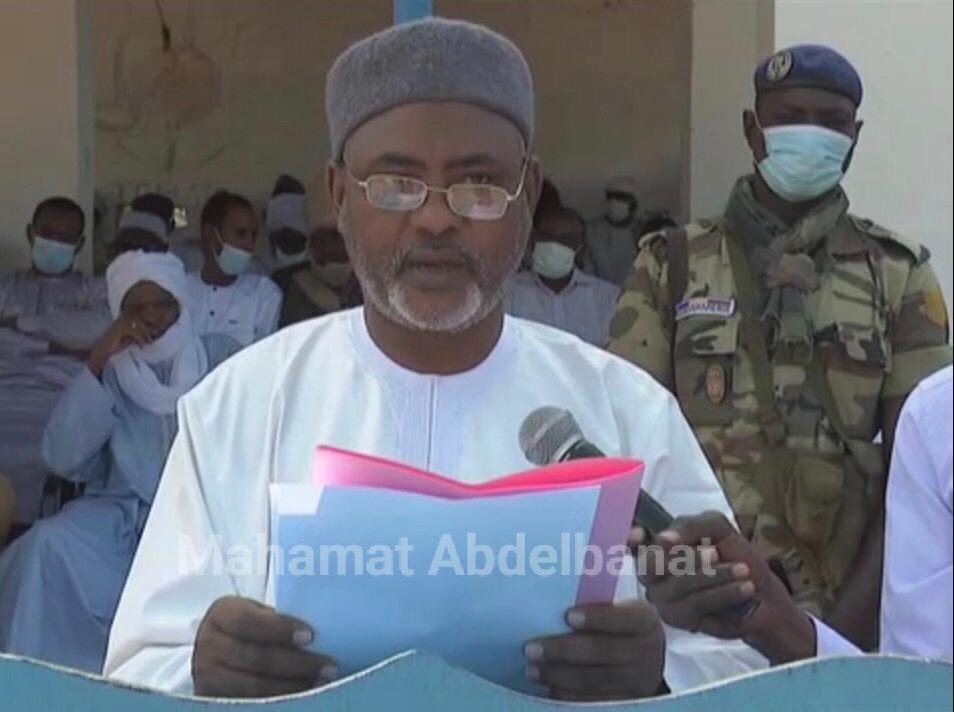 Tchad : le département d'Haraze-Mangueigne dans le Salamat a un nouveau Préfet. ©Mahamat Abdelbanat Kourma/Alwihda Info