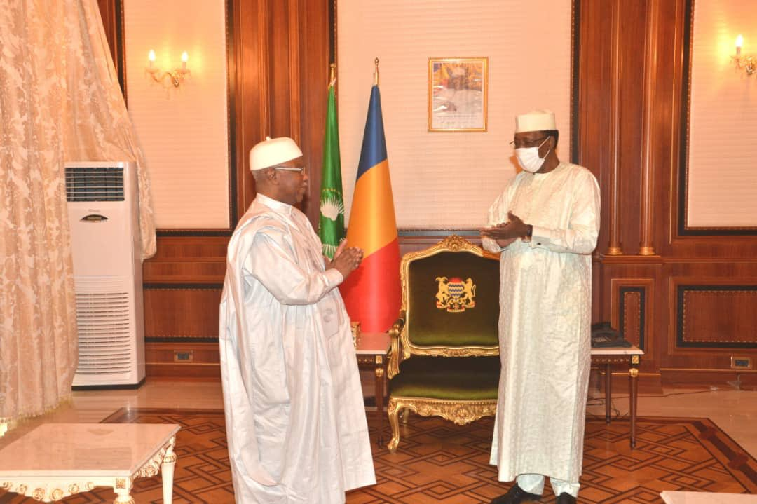 Tchad : Hissein Brahim Taha reçu par le président suite à sa désignation à l'OCI