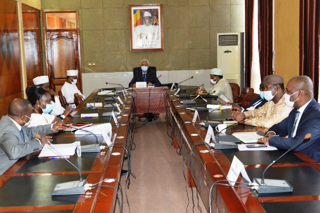 Tchad : le comité de gestion de crise sanitaire fait le point sur la Covid-19. © PR