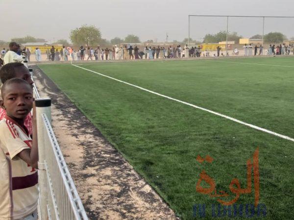 Le stade municipal d'Abéché. © Alwihda Info