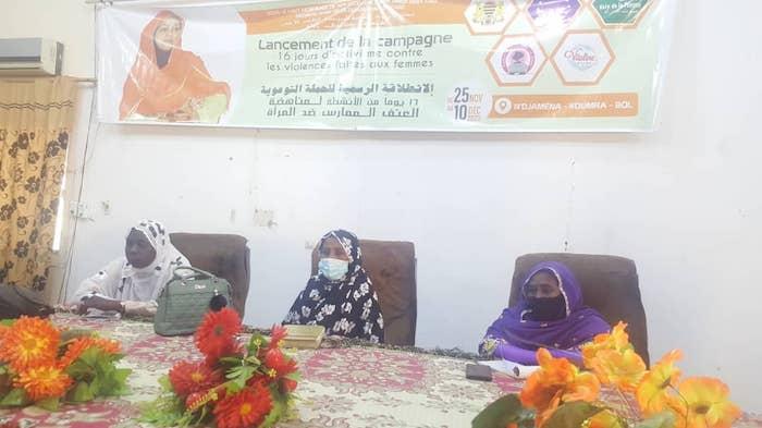 """تشاد: المنظمة غير الحكومية """"صوت المرأة"""" تطلق حملة ضد العنف القائم على النوع الاجتماعي © Mahamat Abderaman Ali Kitire/Alwihda Info"""