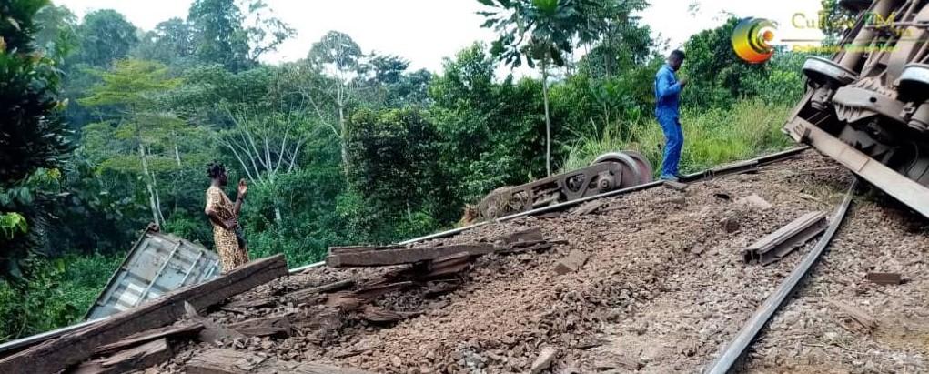 Cameroun : Le train déraille à nouveau à Eséka