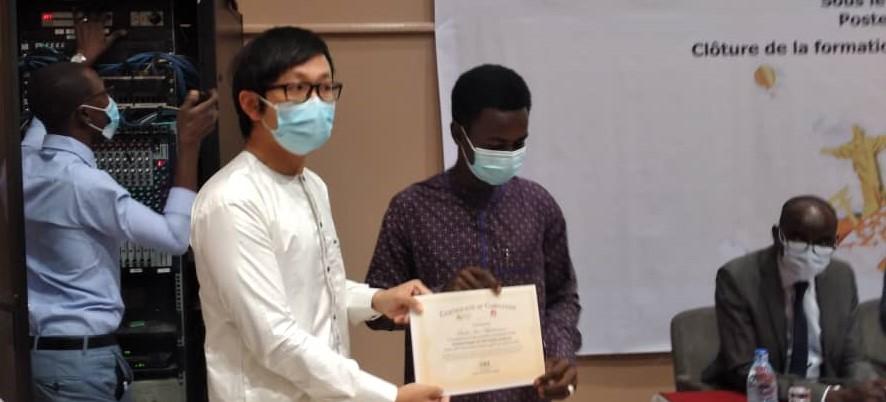 Tchad : Huawei initie des étudiants de l'ENASTIC et de l'INSTA à la haute technologie