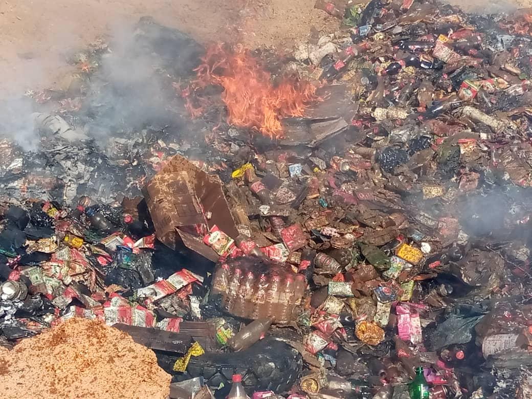 Tchad : des substances prohibées incinérées par la mairie à Abéché