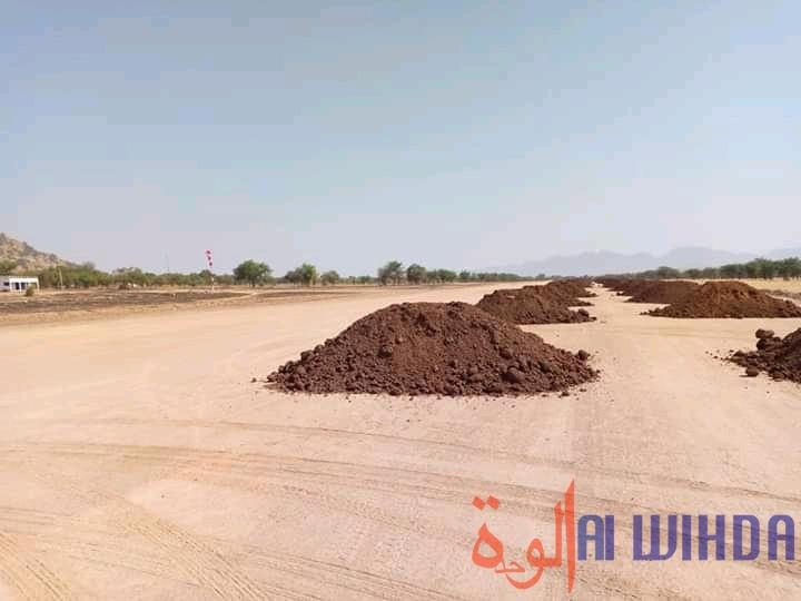 Tchad : préparatifs à Mongo pour l'arrivée du chef de l'État