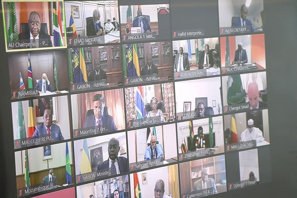 Les dirigeants africains engagés à faire taire les armes sur le continent. © Td.Diplomatie