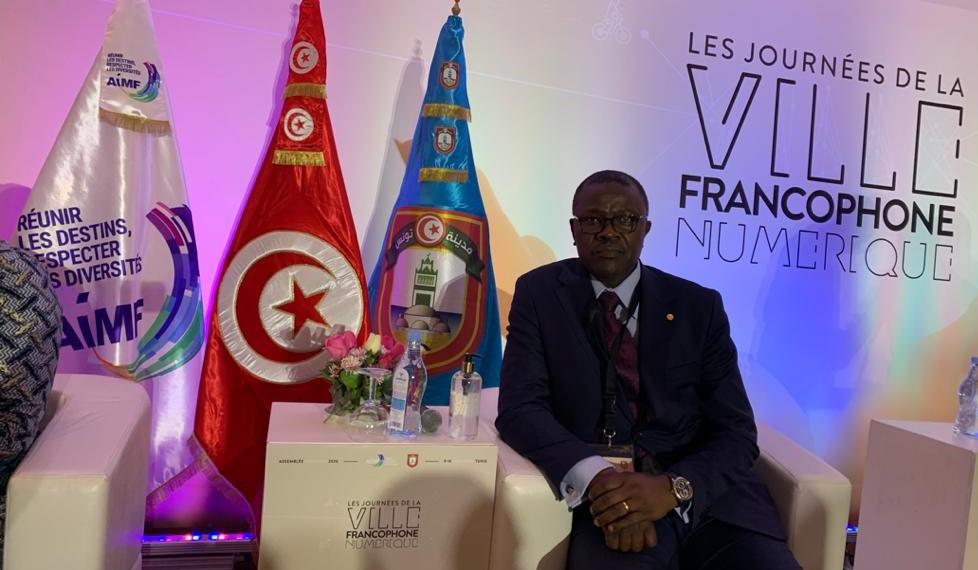 Jacquis Gabriel Kemleu Tchabgou, maire de Dschang et président du Centre Technique Agroalimentaire du Cameroun.