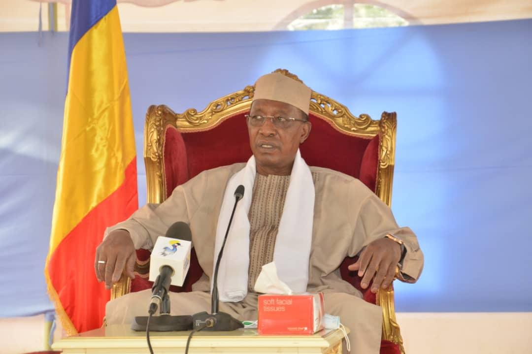 Le chef de l'État Idriss Deby. ©PR