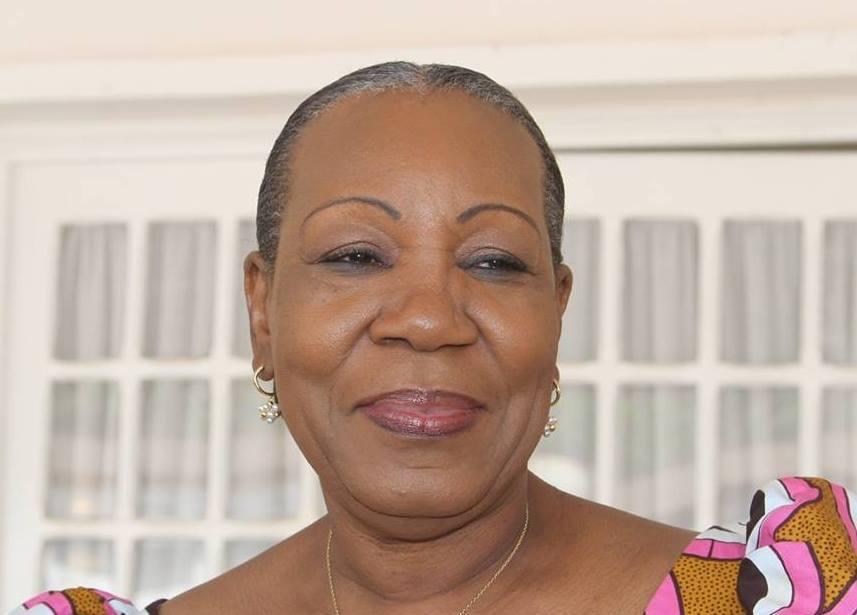 L'ancienne présidente de la transition centrafricaine, Catherine Samba-Panza. © DR
