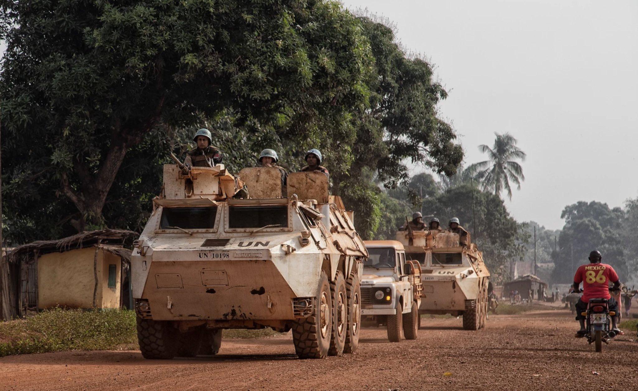 Centrafrique : mission de survol d'avions de chasse français par solidarité. Illustration © MINUSCA