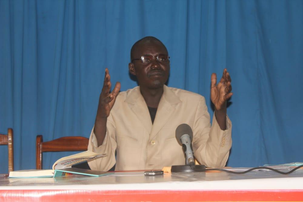 le président du CTVC, Dingamnayal Nely Versinis. © Ben Kadabio/Alwihda Info