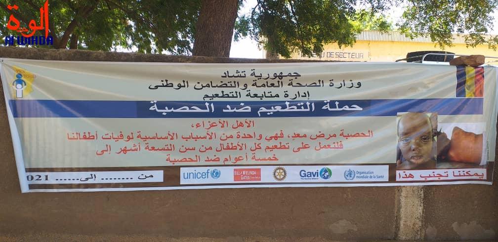 Tchad : la campagne de vaccination contre la rougeole lancée au Sila