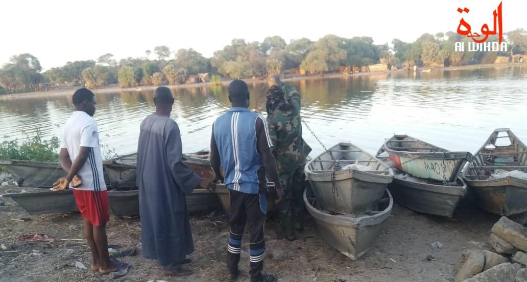 Les rives du Lac Tchad. Illustration ©️ Alwihda Info