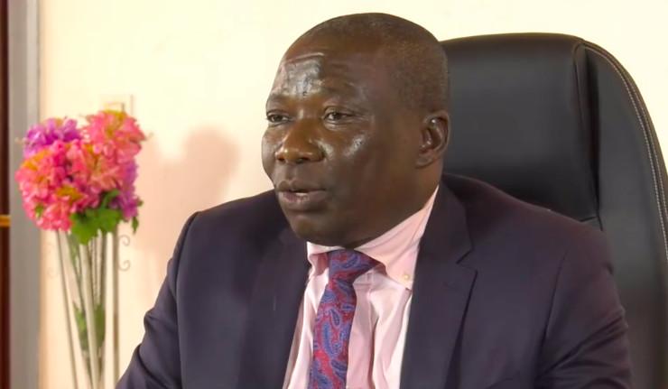 Le ministre de la Sécurité publique, général Henri Wanzet Linguissara. © Gouv/Rca