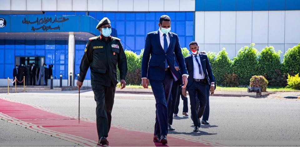 نائب الرئيس السوداني متوقع وصوله إلى تشاد