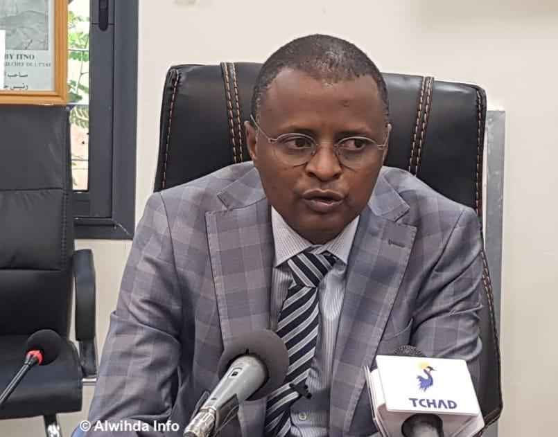 Le ministre des Finances et du Budget, Tahir Hamid Nguilin. © Ben Kadabio/Alwihda Info
