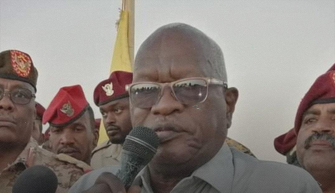 Le gouverneur de l'État du Darfour-Ouest, Mohammed Abdalla al-Douma. © DR