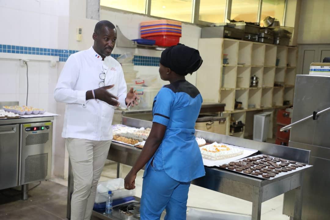 Tchad : à la découverte du chef pâtissier Mahamoud Hissein