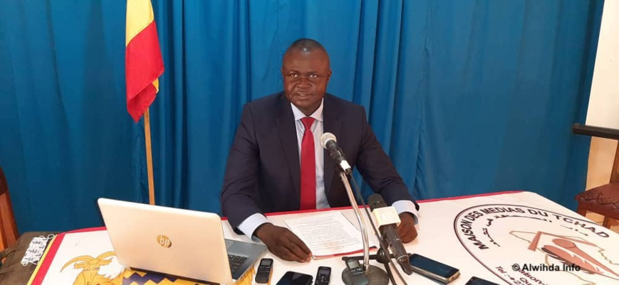 L'avocat au barreau du Tchad, Maître Benjamin Mamgodibaye. © Abakar Chérif/Alwihda Info