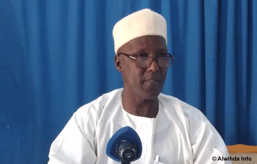 Le président du Parti de la renaissance nationale tchadienne (PRENAT), Abanga Brahim Barka. ©Malick Mahamat/Alwihda Info