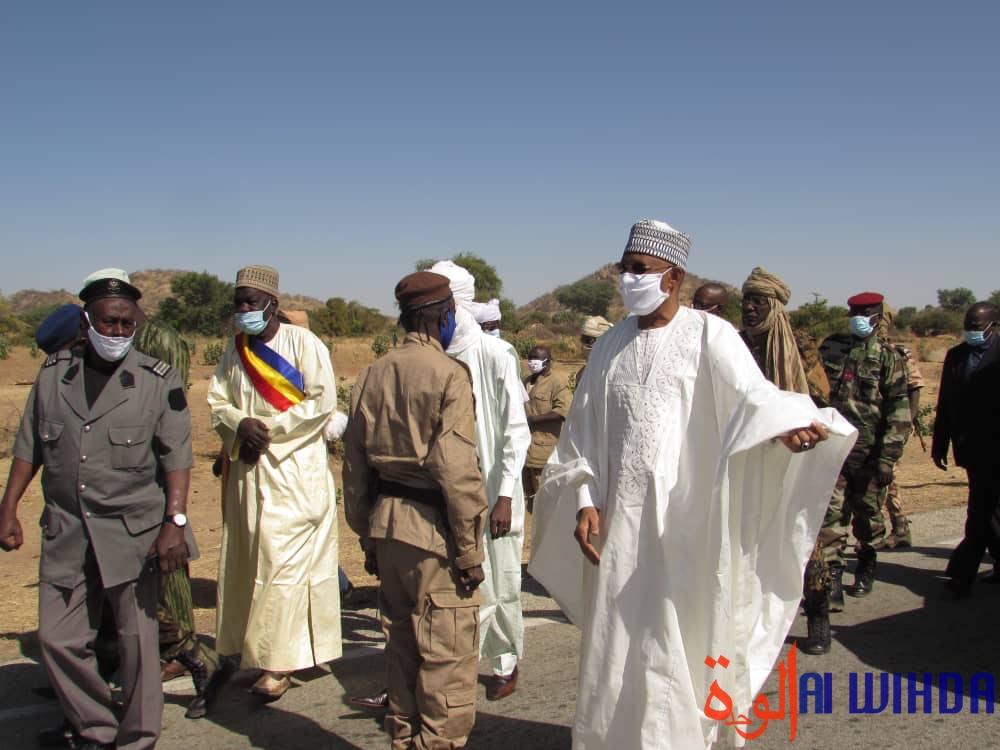 Tchad : le gouverneur du Guéra en visite de travail à Bitkine, dans le département d'Abtouyour