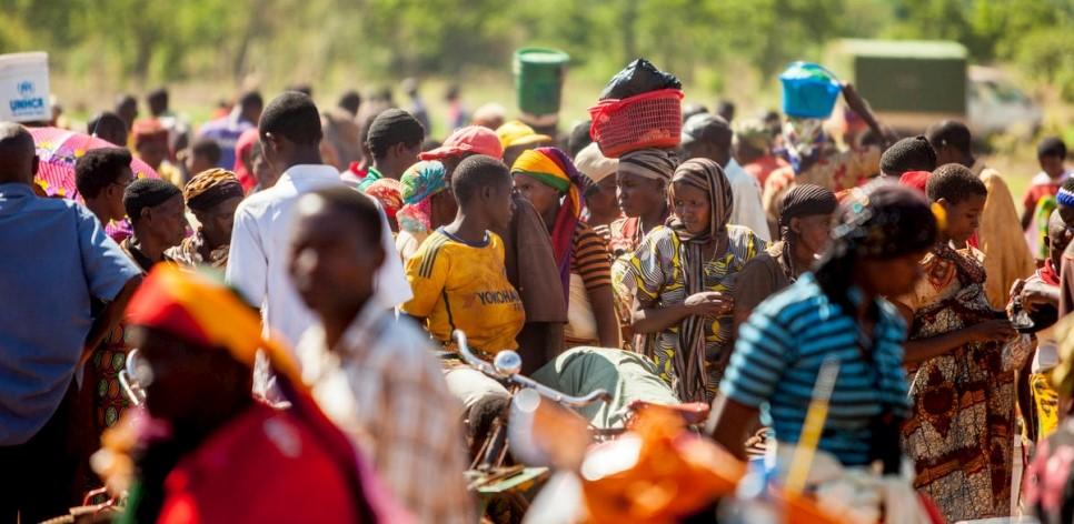 Des réfugiés burundais du camp de Nduta, en Tanzanie.   © HCR / Georgina Goodwin