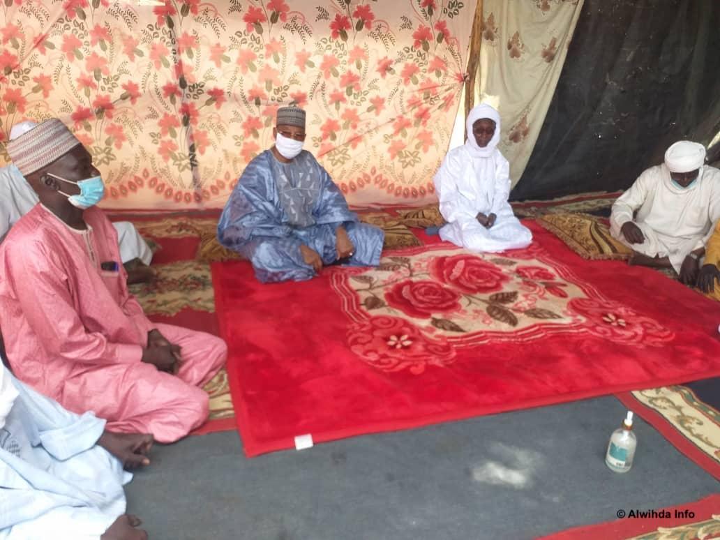 Tchad : le gouverneur du Guéra poursuit sa visite de travail à Mangalmé