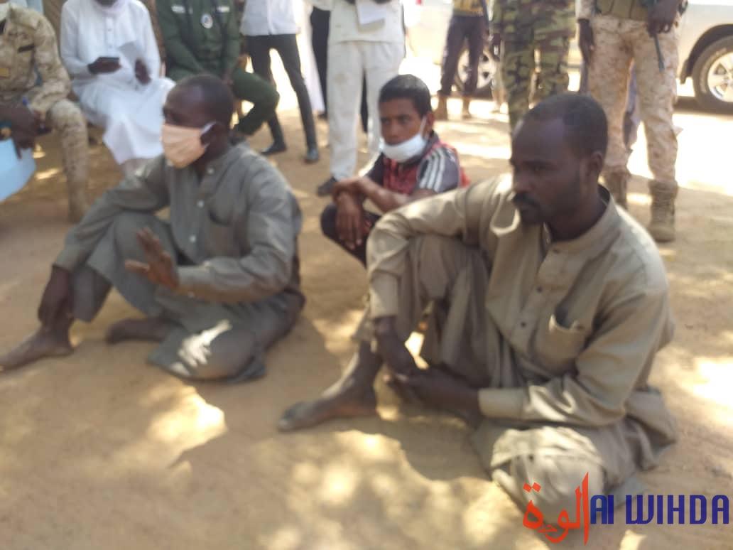 Tchad : des présumés trafiquants arrêtés par la gendarmerie au Guera