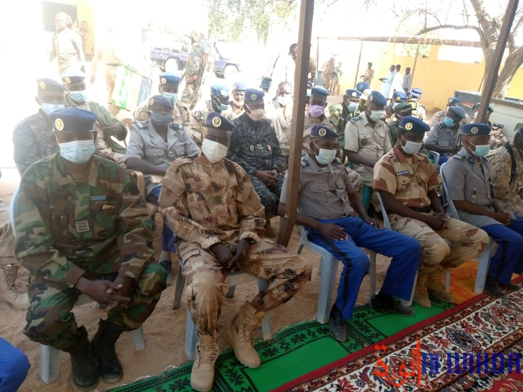Tchad : en mission au Ouaddaï, le directeur de la gendarmerie fait le point sur la sécurité
