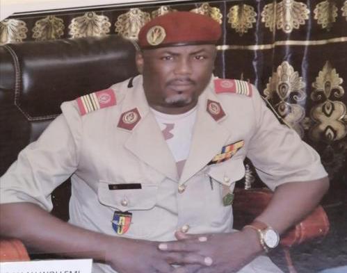Le général de brigade Mahamat Abdallah Wollemi.