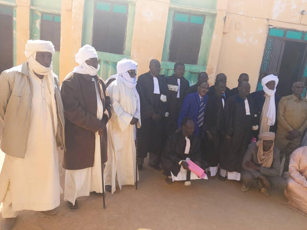 Tchad : 4 nouveaux magistrats installés à Tiné dans le Wadi Fira. © Alwihda Info