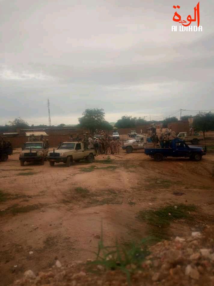 Des forces de sécurité à Pala, chef-lieu du Mayo Kebbi Ouest. Illustration © Foka Mapagne/Alwihda Info