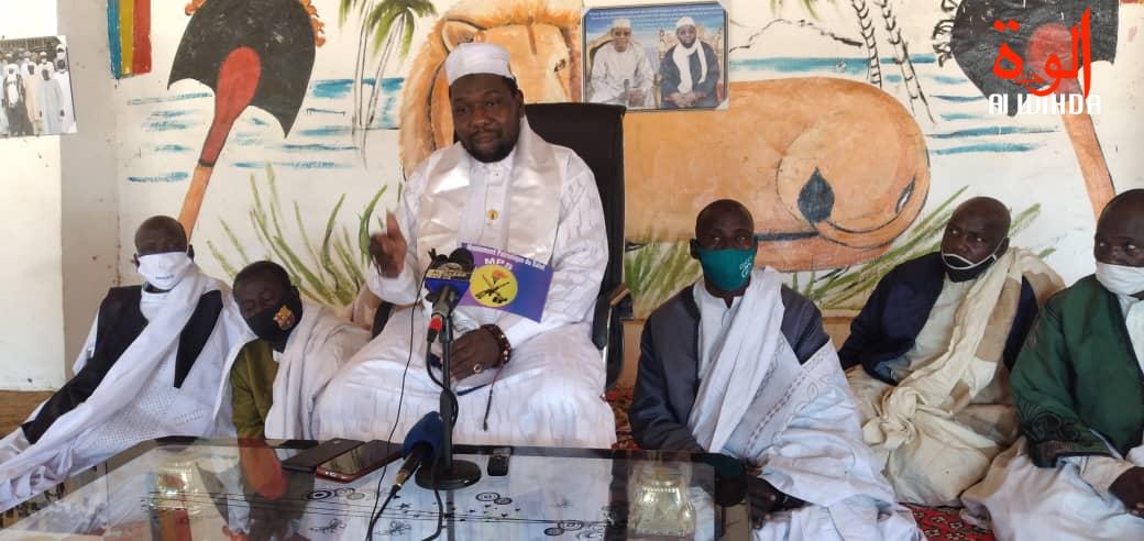 Le sultan de Baguirmi, Sa Majesté Elhadj Mbang Hadji Wolli Mahamat. © Malick Mahamat/Alwihda Info