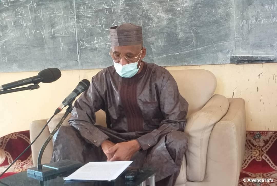 Le gouverneur de la province du Guera, Dago Yacoub. © Abdoussamat Mahamat Djouma/Alwihda Info