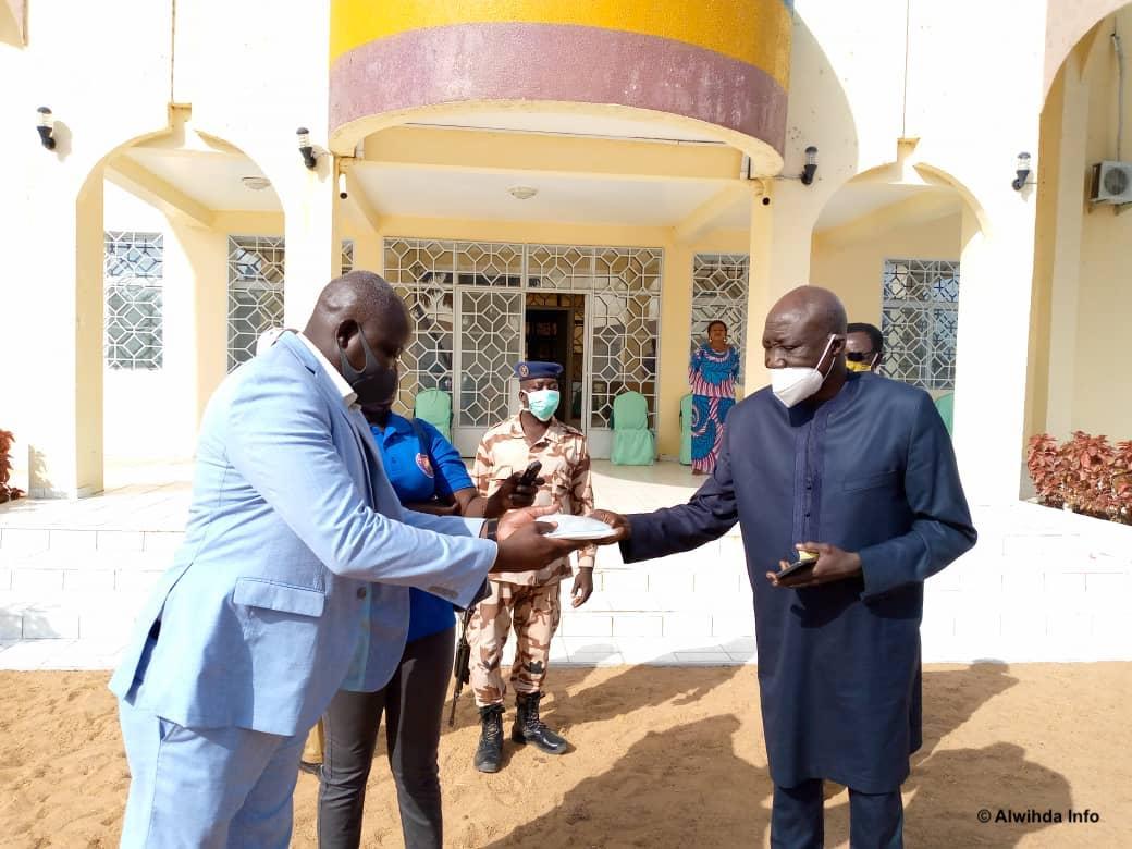Tchad : l'Unicef fait un don de motos à la délégation sanitaire de la Tandjilé