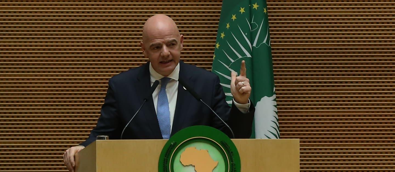 Le président de l'UA et le président de la FIFA font le point sur une collaboration réussie