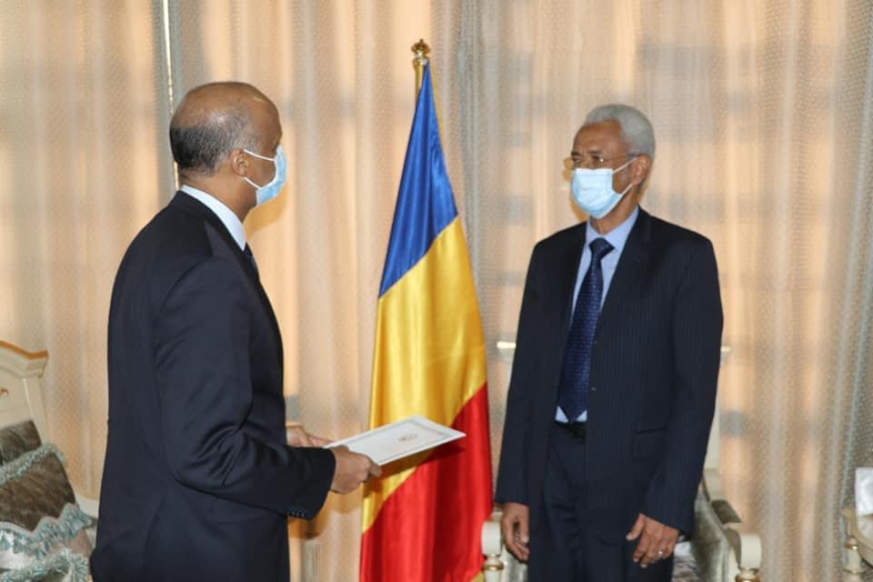 Tchad : Les ambassadeurs du Niger et de l'UE présentent leurs lettres de créance