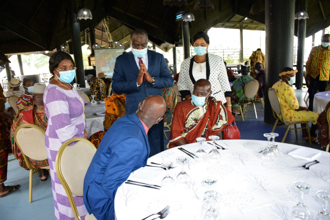 Côte d'Ivoire/Rencontre Fraternelle : La SPDC et les chefs Tchaman célèbrent leur partenariat