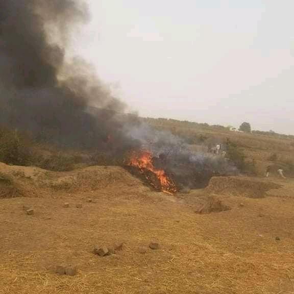 Nigeria : crash d'un avion militaire à Abuja. © DR